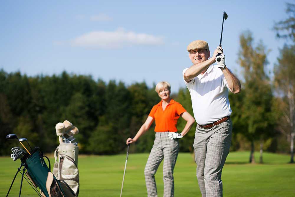 golfer, massage for low back pain, sciatic pain, sciatic nerve